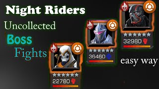 Night Riders(Uncollected)Boss Fights -Marvel Contest of Champions