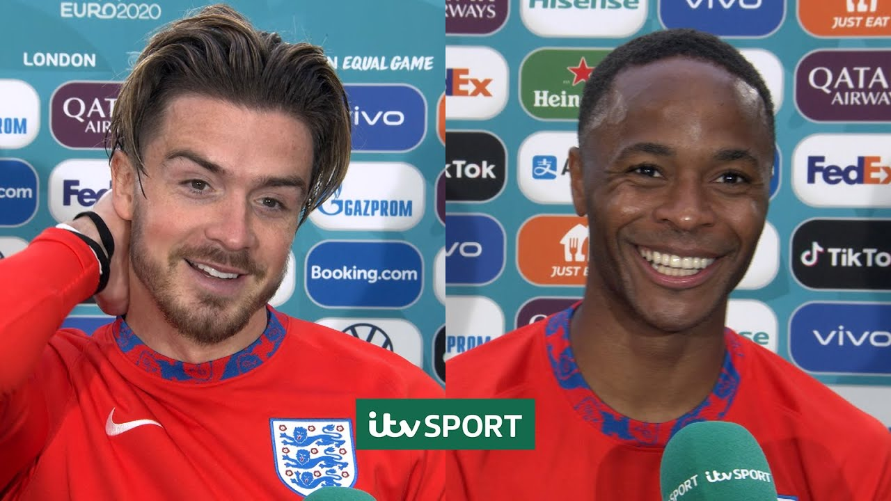 It was a masterclass - Jack Grealish & Raheem Sterling after England beat Germany | ITV Sport