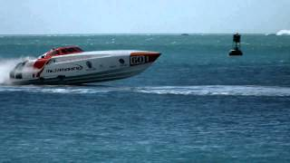 Key West Power Boats Off Shore Racing.wmv