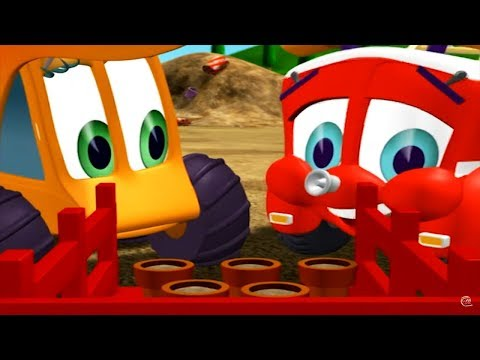 Finley The Fire Engine | Sud's Garden | Full Episode | Cartoons For Kids 🚒