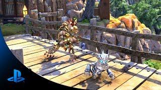 Knack 2-Player Coop Multiplayer Trailer