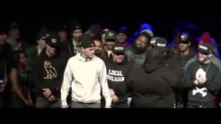 Most Brutal Rap Battle Round EVER  [Rone vs Big T]