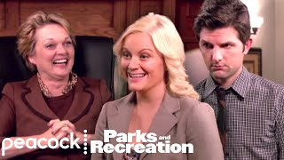 Parks and Recreation - Ben Takes On Leslie