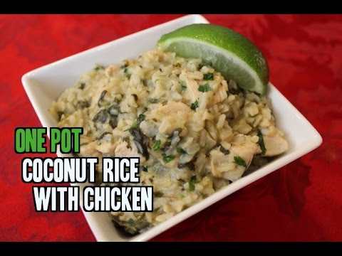 One Pot Coconut Rice with Chicken – Thai Inspired Recipe