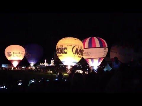 Bristol International Ballon Fiesta Nightglow 2013