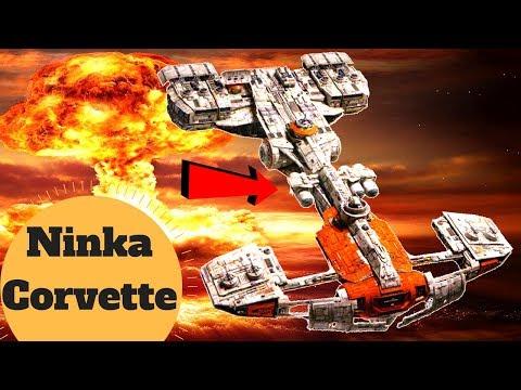 Resistance NUKE Corvette - Holdo's Ship The Ninka Capital Ship - Star Wars Last Jedi Ships Explained