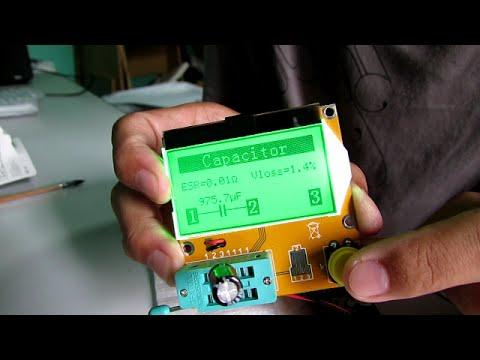 Unboxing Mega328 Transistor Tester Diode Triode Mosfet PNP NPN Capacitor ESR LCR