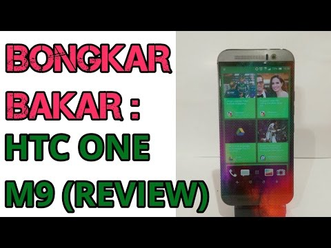 REVIEW: BONGKAR BAKAR HTC ONE M9 (INDONESIA)