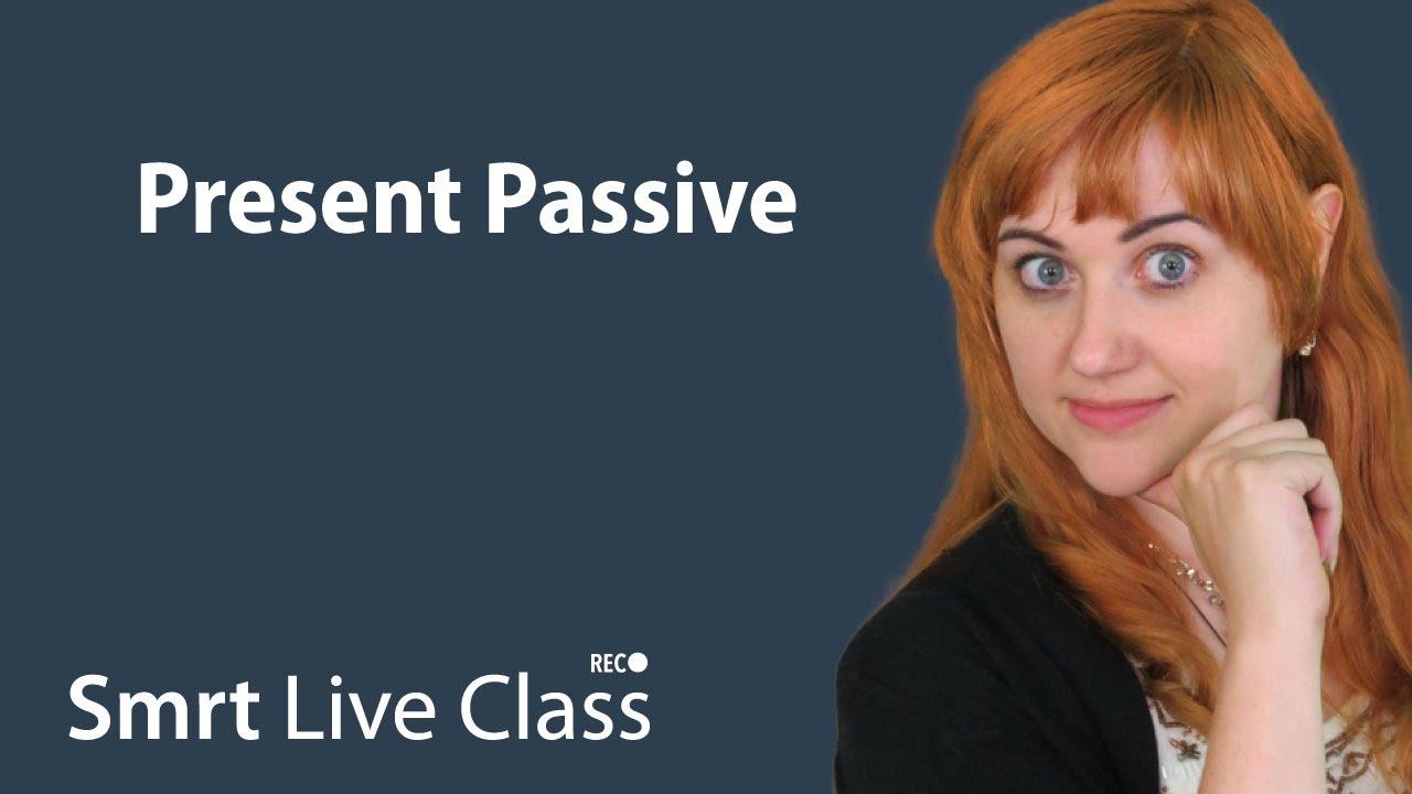 Present Passive - Pre-Intermediate English with Nicole #17