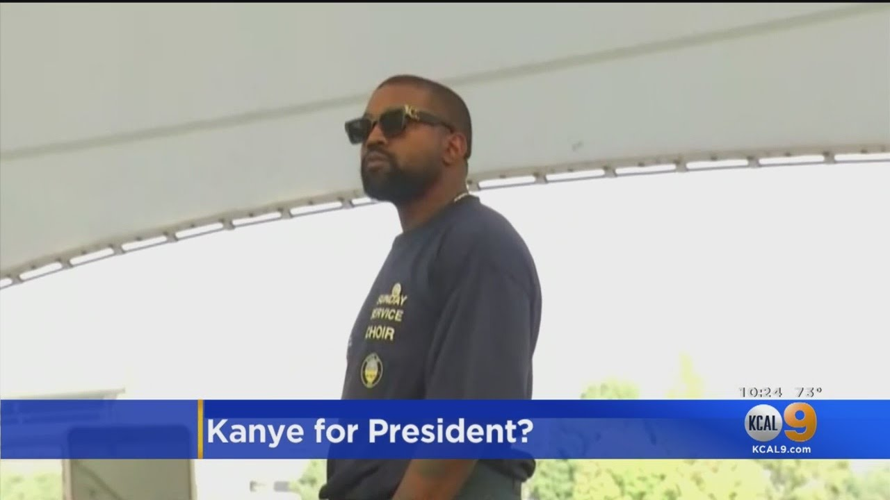 Kanye West Tweets He Will Run For US President
