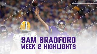 Sam Bradford Highlights | Packers vs. Vikings | NFL Week 2 Player Highlights