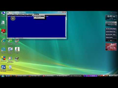 Vista Tip - How To Get the Ols MS Dos Text Editor - Luke