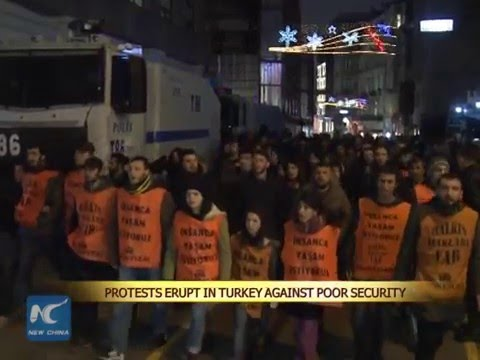 Protests erupt in Turkey against poor security after Ankara bombing attack