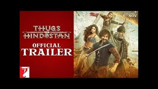 Thugs Of Hindustan Trailer Official | Amitabh Bachchan | Amir Khan | New Bollywood movie Trailer