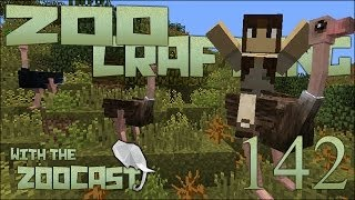 Zoo Crafting! Ostri-Egg Island! - Episode #142 [Zoocast]