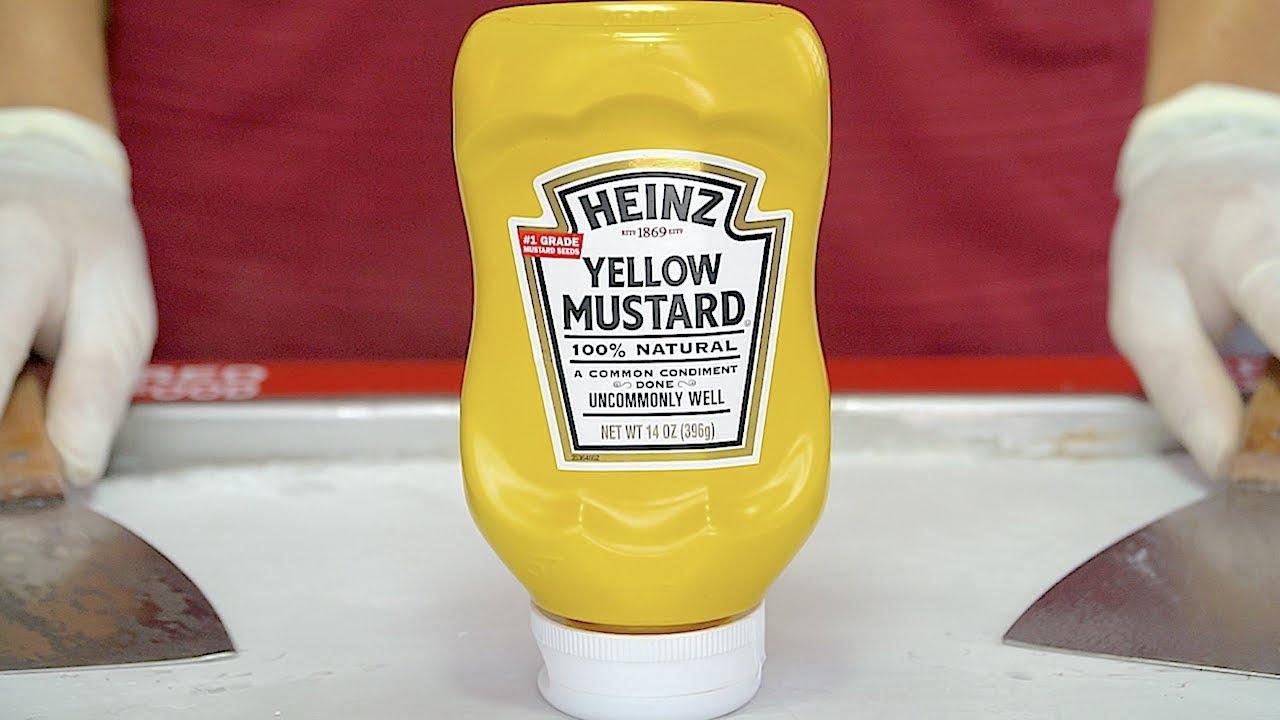 Can Yellow Mustard be Ice Cream Rolls?