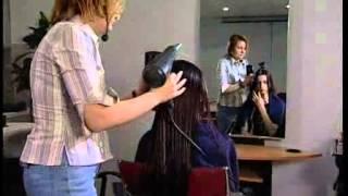 Сушка и укладка длинных волос