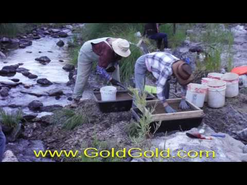 This is small scale mining - Gold Prospecting 2016