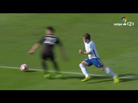 Resumen de CD Tenerife vs Reus (0-1)