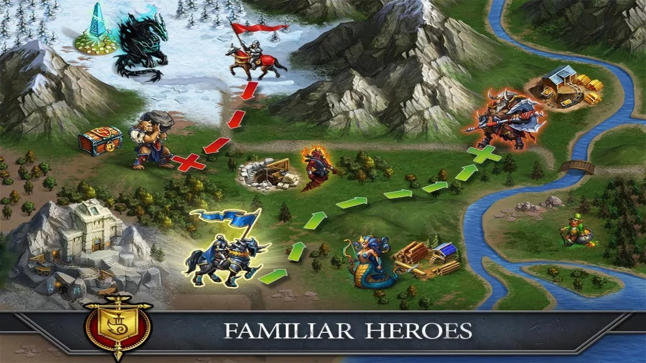 Gods and Glory: War for the Throne Android Gameplay HD - YouTube