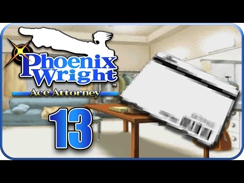 Let's Play Phoenix Wright: Ace Attorney Part 13: Herumschnüffeln in den Global Studios!