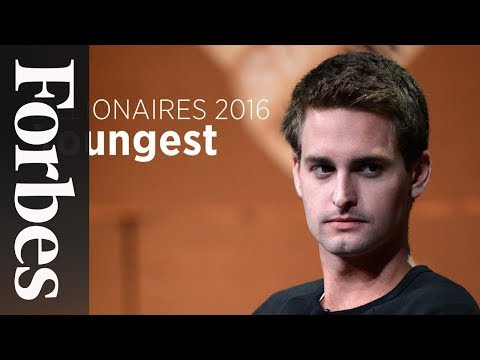 Billionaires 2016: The Youngest In The World