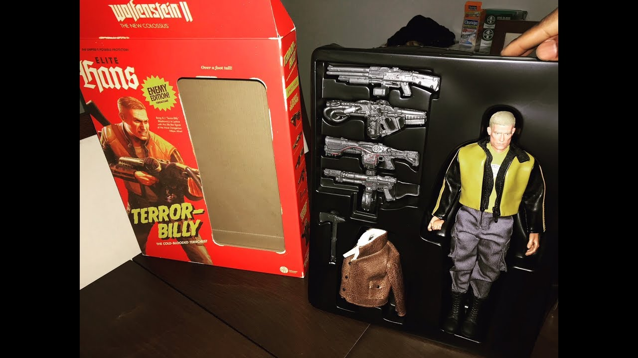 WOLFENSTEIN II The New Colossus Collectors Edition Figure