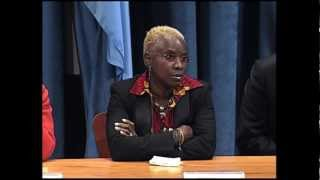 WorldLeadersTV: SINGER ANGELIQUE KIDJO at UN PERFORMANCE on HARMFUL FEMALE GENITAL MUTILATION (FGM)
