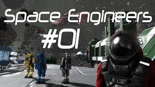Space Engineers выживание #1 - Одиночество в космосе(Начинаем осваиваться в Space Engineers в режиме выживания http://vk.com/unchainedlp - официальная группа канала. Для материал..., 2014-04-11T14:00:07.000Z)