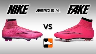 Fake vs. Real Superfly - How to avoid buying a Replica Nike Mercurial