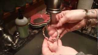 How To Clean Alex and Ani Bracelets Like MacGyver!