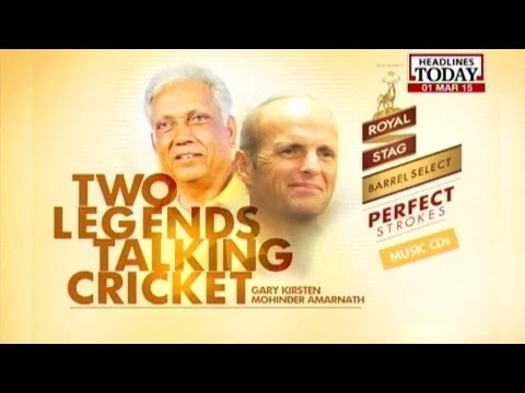 Reliving India's WC Glories With 'Jimmy' Amarnath & Gary Kirsten