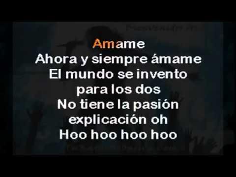 ALEXANDRE PIRES   AMAME   karaoke