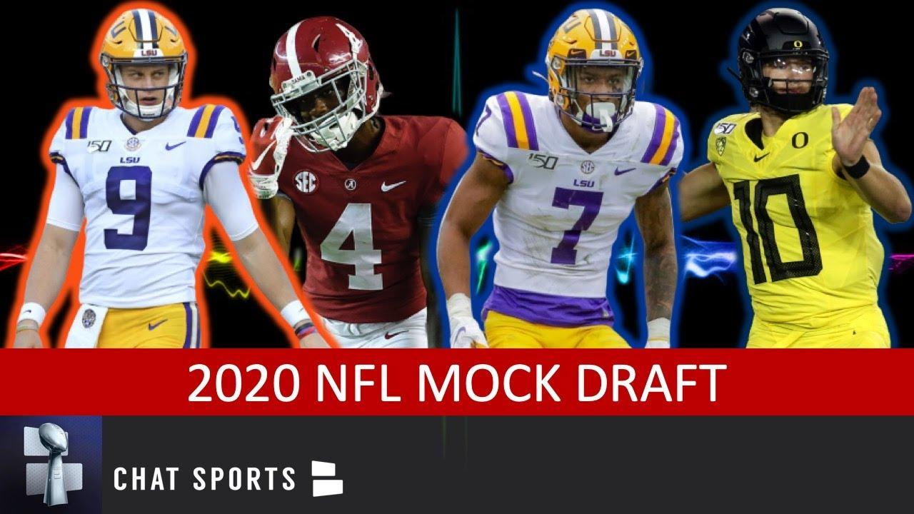 2020 NFL mock draft: Full 7 rounds of Lions picks