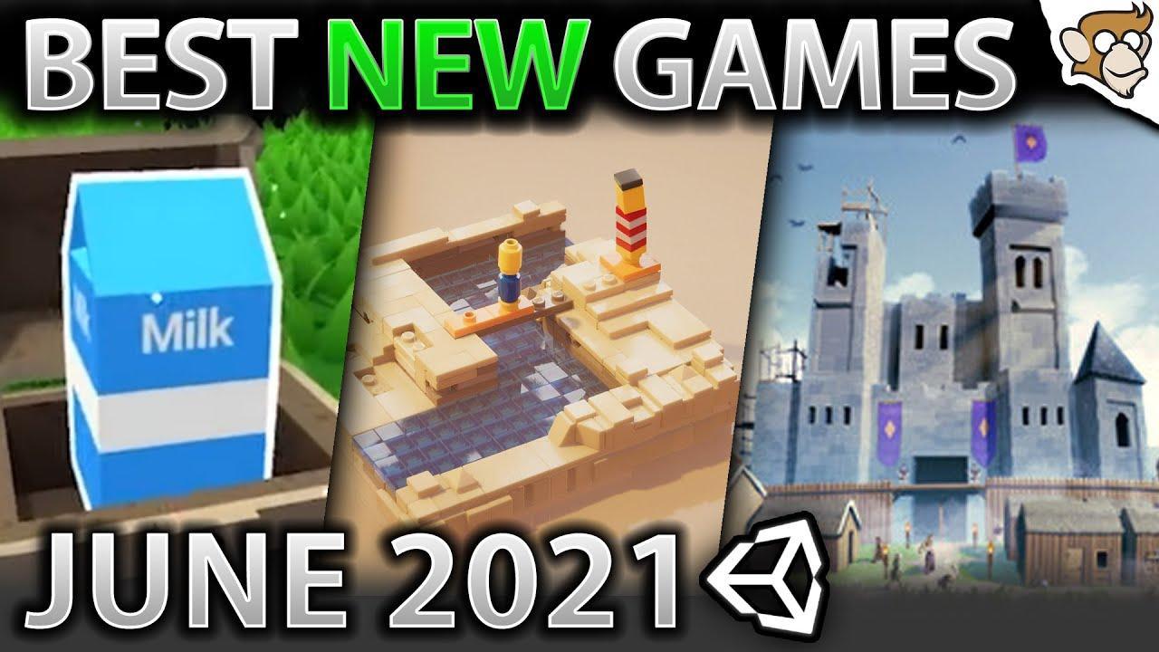 Top 10 NEW Games of JUNE 2021! (Muck, Going Medieval, Slipways)
