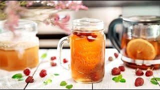 ТОП-3 рецепта ВКУСНОГО ЧАЯ | Чай с Малиной, Облепихой и Можжевельником
