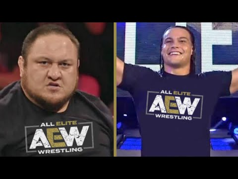 Fired WWE Wrestlers Signing with AEW - Samoa Joe, Bo Dallas & more
