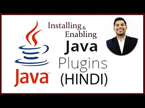 Installing And Enabling Java Plugin To Run Java Applets In Browser  (HINDI)