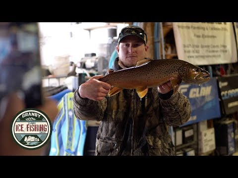 Three Lakes Ice Fishing Contest - Granby's 31st Annual