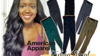 American Apparel Riding Pant Collection (SEVEN COLOURS) ♥