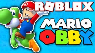 THIS ROBLOX SUPER MARIO OBBY IS IMPOSSIBLE!! (REALLY HARD!)