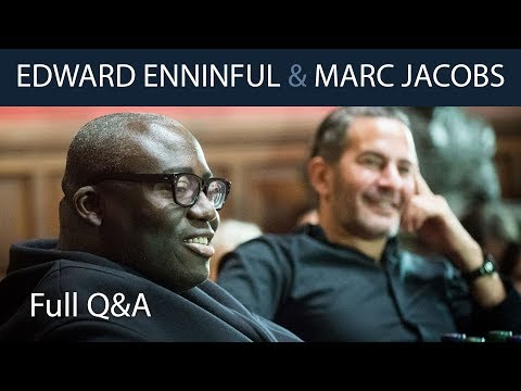 Marc Jacobs & Edward Enninful | Full Q&A at The Oxford Union