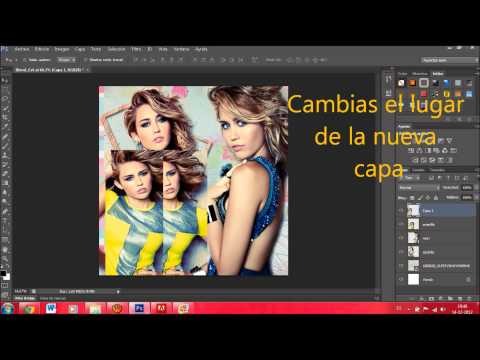 Como crear un mosaico en photoshop cs4