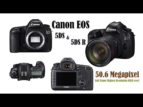 Canon\'s 50.6 Megapixel Full frame DSLR Cameras | Canon EOS 5DS and ...