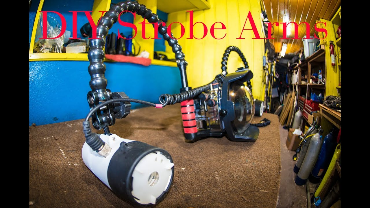 diy how to build strobe arms youtube