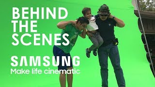 Behind the Scenes of Make Life Cinematic | SAMSUNG Sponsored Video