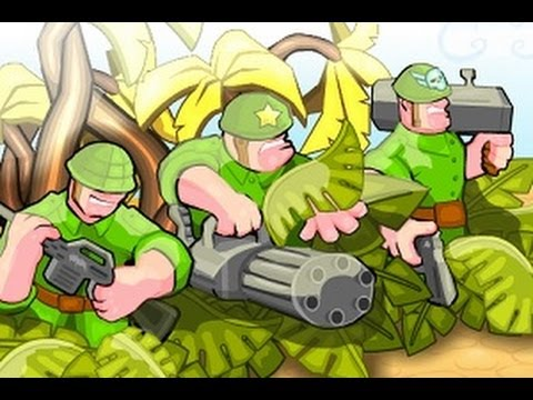 Командир батальона (флэш игра)