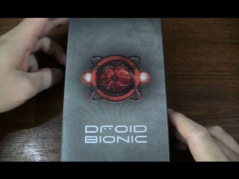 Verizon Motorola DROID BIONIC Unboxing and First Impressions