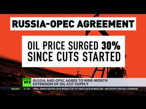 Russia & OPEC agree to extension of oil-cut supply