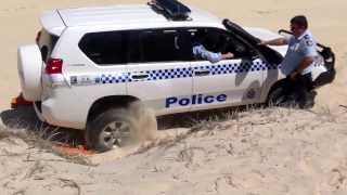 Fraser Island sept 2013 Indian head helpin the local law enforcement